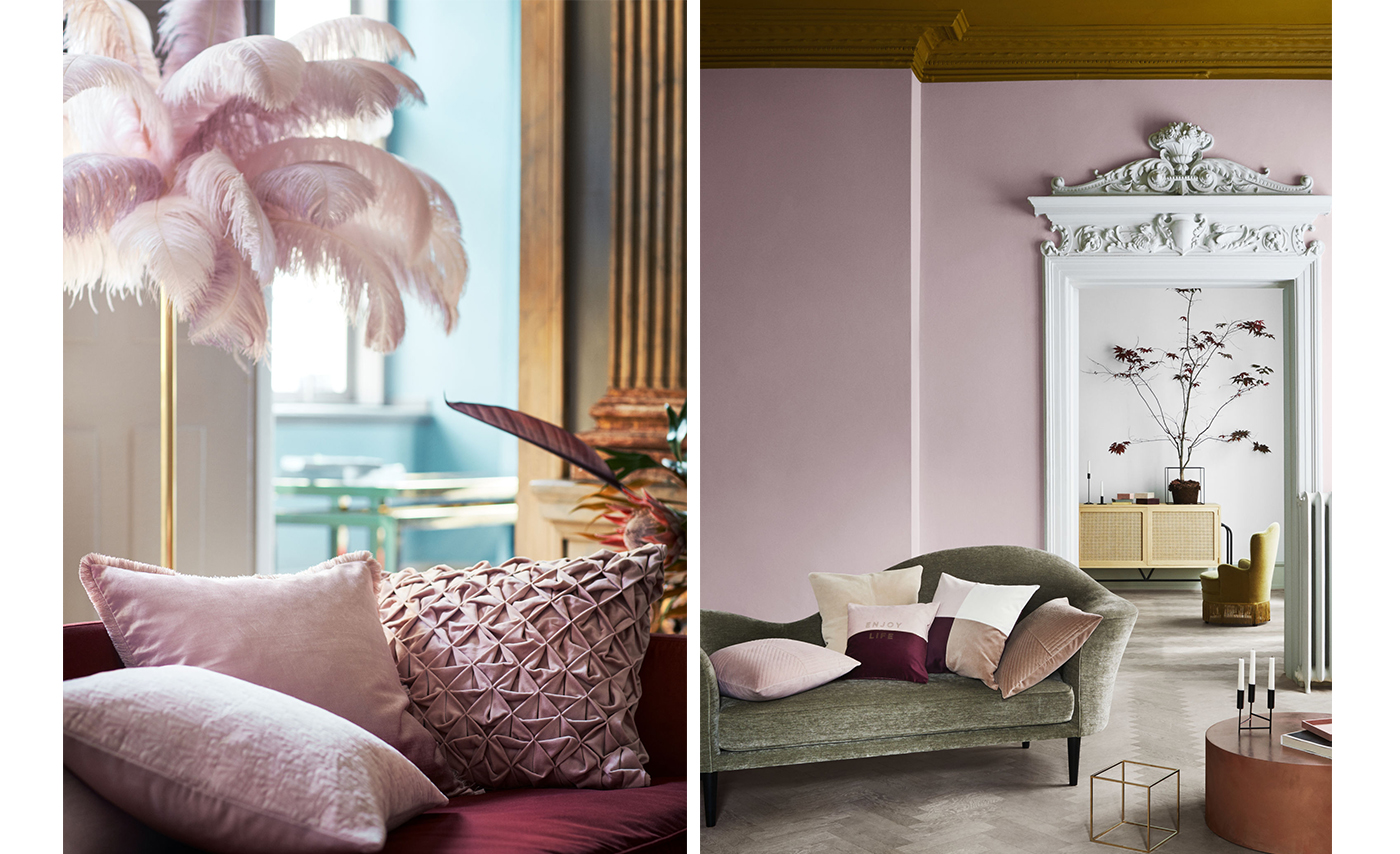 Rosa trend H&M Home