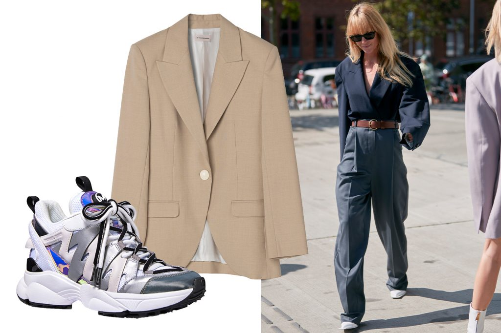 Sporty suiting
