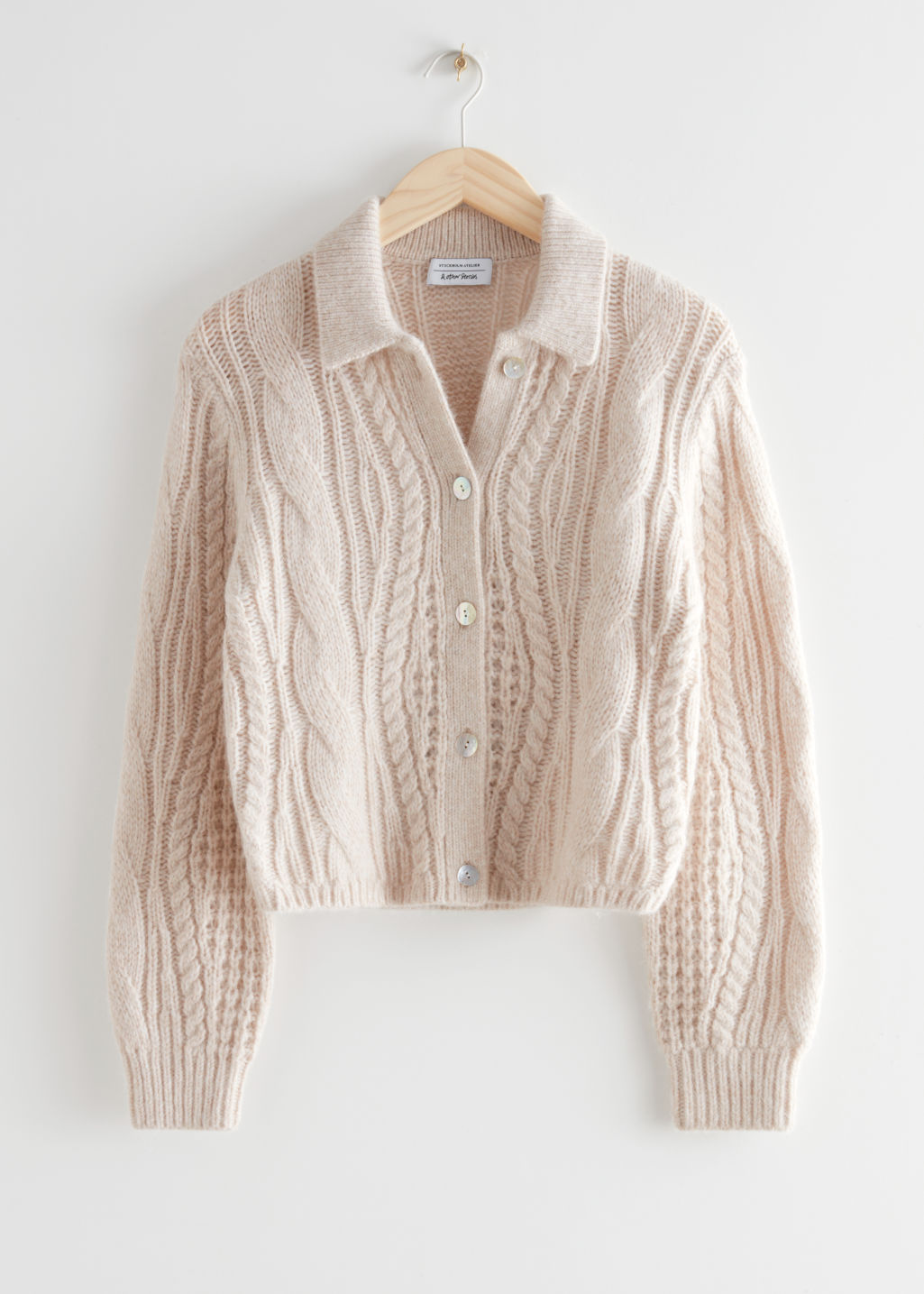 Cardigan fra &other stories